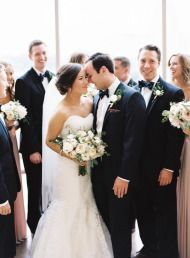 Elegant Midwest Wedding at the Oklahoma History Center - Style Me Pretty