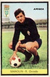 MANOLIN (R. Oviedo - 1972-73)