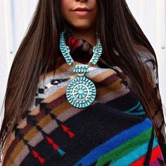 #Americana #native #turquoise #pendleton #wildwest