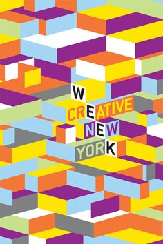 Our identity for Creative Week New York is our attempt to crystallize the exuberance of this language in a simplified form. We hope we did just that.— Brian Collins