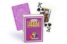 Cartes Modiano Poker Index (mauve) - Pokeo.fr -  Jeu de 52 cartes Modiano 100% plastique Poker Index de couleur mauve.