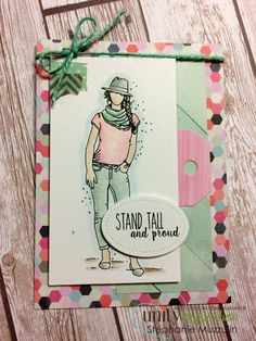 """""""Stand tall and proud."""""""