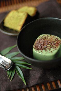 Matcha Panna cotta (no recipe)