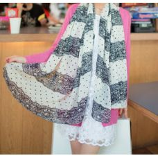 Scarves are an often overlooked accessory that can add a splash of colour or a layer of texture to any outfit. This season key styles include bold, quirky designs, colour blocking scarves, ombre and dip-dye styles and novelty girly monogram printed lightweight scarves, snoods and stoles.