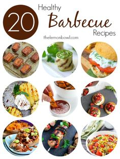 20 Healthy Barbecue Recipes - The Lemon Bowl