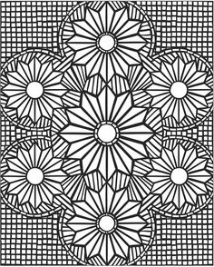 magnificent mosaics coloring book paperback thousands of years ago the greeks and romans introduced a style of design that began with simple pebbles and - Printable Coloring Pages Patterns