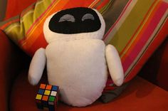 Eve plushie Walle by hdepew13 on Etsy, $20.00