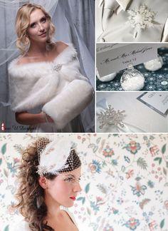 {Etsy Finds} Winter Wonderland Wedding Inspiration