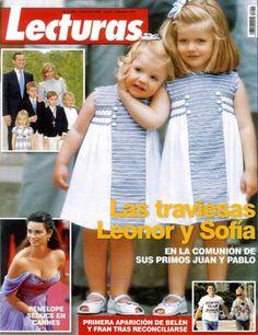 Infantas Leonor y Sofia Love the dresses
