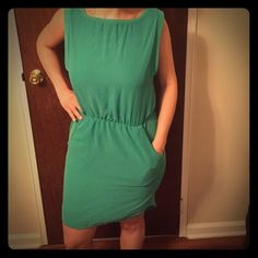 Super sexy Zara's high-low summer dress Turquoise, perfect for day to night! Zara Dresses High Low