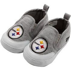 Pittsburgh Steelers Infant Girls 3-Piece Ruffle Heart Creeper Set - Ash/Black/Gold