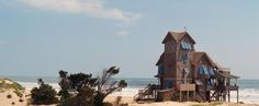 Nights of Rodanthe movie set, Rodanthe, Outer Banks, NC