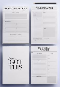 ULTIMATE Productivity, To Do List Work Printable Planner Pack, 21 A4 U0026 A5  Organizer Pages: Day Planner, Project Planner Instant Download  Office To Do List Template