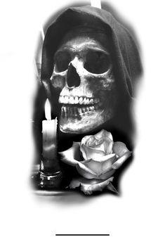 Skull Roses Tattoo, Skull Tattoos, Chicanas Tattoo, Tattoo Blog, Samoan Tattoo, Polynesian Tattoos, Celtic Tattoo Symbols, Celtic Tattoos, Full Sleeve Tattoos