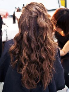 The secret to these luscious, gorgeous curls