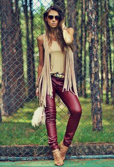 17 Perfect Style Leather Pants for Women this Season | Outfit Trends | Outfit Trends