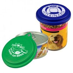 Our Promotional Pet Food Can Covers are a super affordable and appreciated thank you gift for you to give to your customers. 3-step lid design makes them almost universal, fitting most pet food cans! They come in a great assortment of colors and offer a large imprint area that you can print your logo or company message in up to 3 imprint print colors! Made in the USA from a low density Polyethylene. CPSIA Certified so it's be safe for food contact, as well as safe for pets.