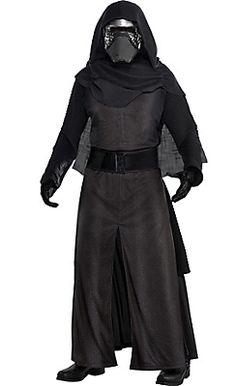 Adult Kylo Ren Costume Deluxe - Star Wars Episode VII The Force Awakens
