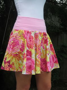 Katy's Pink Circle Skirt | Skirt fabric from City Craft www.… | Flickr