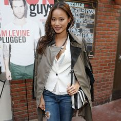 Jamie Chung Has Our Chicest Weekend Look