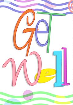 Free #Printable Get Well Greeting #Card