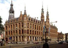 Magna Plaza shopping mall (former Amsterdam main postoffice)