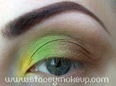 Dicas de maquiagens : Últimos dias verdes