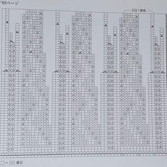 Круглая кокетка. Схема для вязания снизу вверх. Рапорт узора внизу кокетки 15 петель, после выполнения убавок 6 петель.
