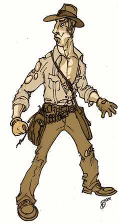 Indiana Jones by Kyle A. Bolton.