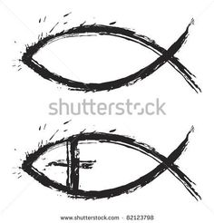 Stylized Christian fish symbol with the name of Jesus. Description from clipart.me. I searched for this on bing.com/images