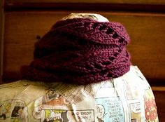 Victorian Cowl by Amanda Reed knit, lace, cowl, pattern, ravelry