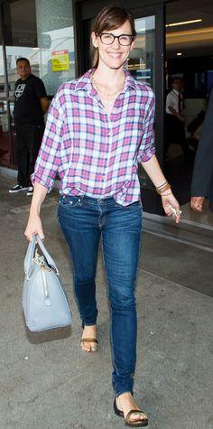 Jennifer Garner's Best Street Style Looks - June 30, 2014 from #InStyle