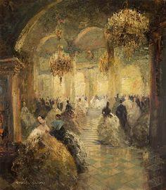 opera ball - ludwig gschossmann