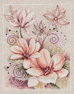 Buy Pastel Petals Arabesque online at sewandso.co.uk