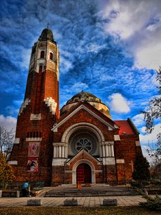 Greek Catholic Church of Debrecen Goddess Oltalma Budapest, Places Around The World, Around The Worlds, Old Churches, Catholic Churches, Hdr Photography, Cathedral Church, Largest Countries, Chapelle