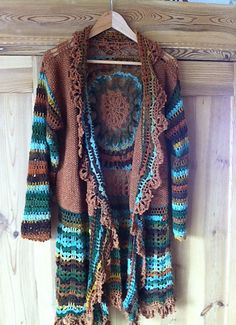 Ravelry: Hippie Jacke Samba pattern by NEXT Yarns