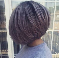 The cut is perfect...this greyish-purple color is everything!