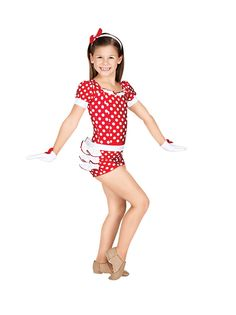 Cutie Pie (TH3007c) - by Theatricals. A new costume line by Discount Dance Supply #DiscountDance #Theatricals #wedance #costume #jazz #tap