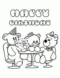 print out coloring birthday cards print this birthday coloring card out for your little. Black Bedroom Furniture Sets. Home Design Ideas