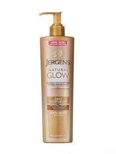 2014 Readers' Choice Awards winner: Jergens Natural Glow Daily Moisturizer makes skin soft (immediately), and delivers gradual, believable color (in five days)