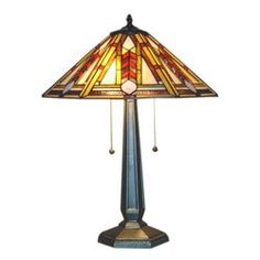 Shop for Tiffany-style Geo Hex Mission Table Lamp. Get free delivery On EVERYTHING* Overstock - Your Online Lamps & Lamp Shades Store! Bungalow Living Rooms, Mission Table, Stained Glass Table Lamps, Tiffany Style Table Lamps, Lamp Shade Store, Stained Glass Patterns, Glass Shades, Geo, Studios
