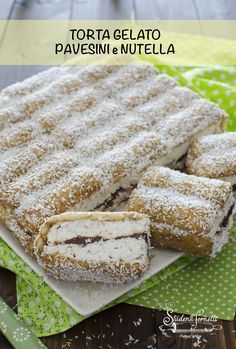 A # cold cake with soaked in # coffee … – World Food Cake Cookies, Cupcake Cakes, Nutella Mousse, Cold Cake, Yummy Smoothie Recipes, Trifle Pudding, Torte Cake, Icebox Cake, Nutella Recipes