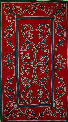 Anatolian felt textile.