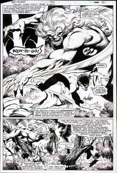 John Byrne Draws... — Uncanny X-Men #140, page 27 by John Byrne & Terry... Comic Book Pages, Comic Book Artists, Comic Artist, Comic Books Art, Marvel Art, Marvel Comics, Marvel Live, Comic Layout, John Byrne
