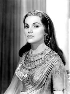 "Debra Paget for ""The Ten Commandments"" (1956)"