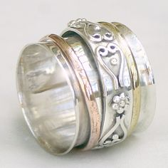 """""""Deepa"""" Meditation Ring from Cahoia"""