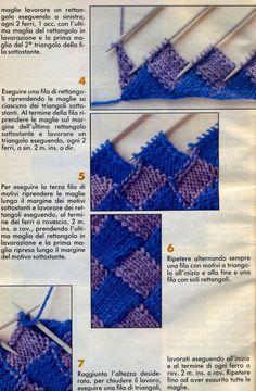 C osì la mia amica romana Carolina, che aspetta un bimbo potrà rifare la copertina che la sua nonna aveva fatto per lei 37 anni fa. Ho fatto... Easy Crochet Hat Patterns, Beginner Knitting Patterns, Knitting Stiches, Knitting For Beginners, Knit Patterns, Hand Knitting, Diy Crochet, Booties Crochet, Pulls