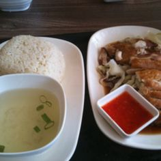 Roast Chicken Rice