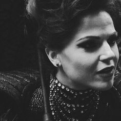 Gorgeous Evil Queen screencap...also just a great moment of her kinda pimping Belle out to Rumple