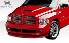 2002-2008 Dodge Ram 1500 2500 3500 Duraflex SRT Look Hood Dodge Ram 1500 Hemi, Plastic Trim, Ram Trucks, The Body Shop, Carbon Fiber, Specs, Template, Base, Lights